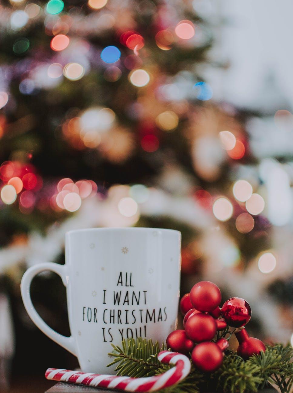 Vánoční hrnek