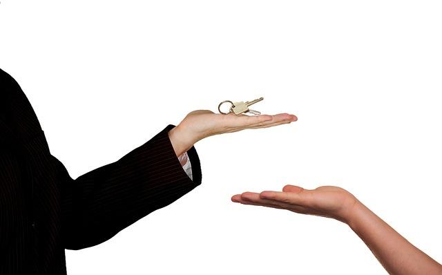 předání bytu
