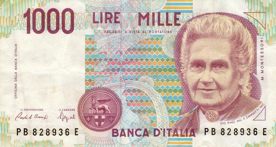 italské liry